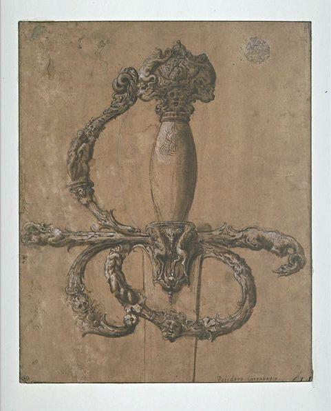 renaissance sword hilt design