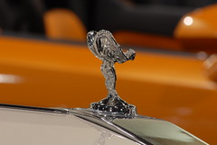 "The Rolls Royce mascot ""The Spirit of Ecstasy"" (PHX Photo) Tags: england english emily rollsroyce british phantom saloon luxury hoodornament goodwood v12 flyinglady silverlady phoenixconventioncenter eleanorvelascothornton rollsroycemotorcars charlesrobinsonsykes phoenixcarshow 2009arizonainternationalautoshow johnwalteredwardscottmontagu phxphxphoto automobileexoticexoticcarrearwheeldrive"