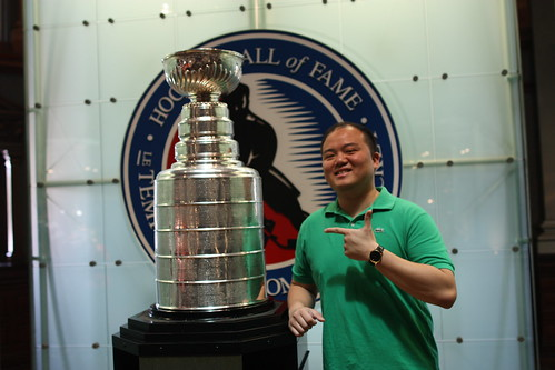 Me w/ the Lord Stanley Cup