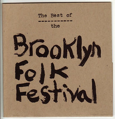 Brooklyn Folk Festival CD Cover