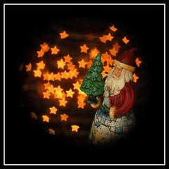 Star Gazy Santa