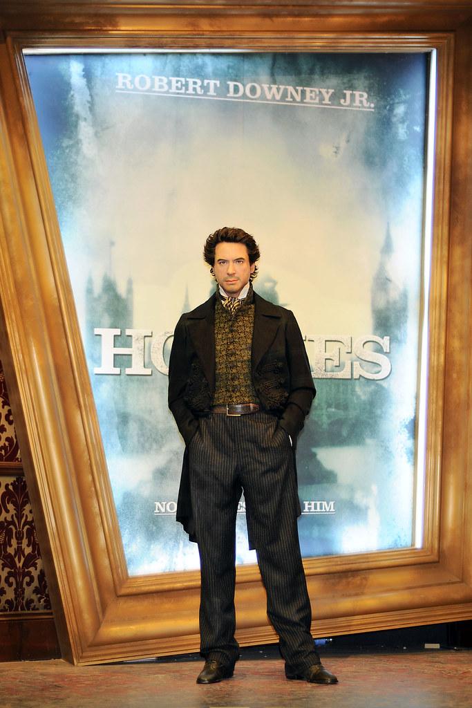 Sherlock Holmes Robert Downey Jr. Madame Tussauds