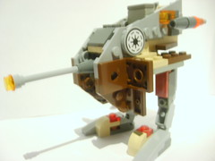 21_ Imperial Desert Walker (Alexander's Lego Gallery) Tags: light storm trooper bike rebel star ship desert lego space luke battle walker solo darth empire saber jedi stormtrooper anakin spaceship lightsaber wars vader vulture clone pilot sith han droid speeder chewbacca leia blaster skywalker rebels galactic organa speederbike