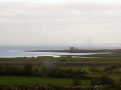 Another castle ruin of in the distance (debstromquist) Tags: ireland countryside coclare galwaybay r477 castleruins