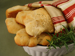 Parmesan Rosemary Breadsticks