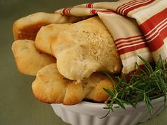 Parmesan Rosemary Breadsticks