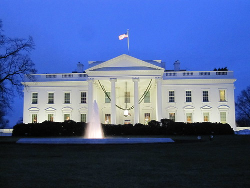 White House by Tom Lohdan, on Flickr