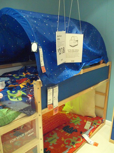 Coolest Little Bunk Bed Ever Kura With Tent Atlanta 2009 A Photo