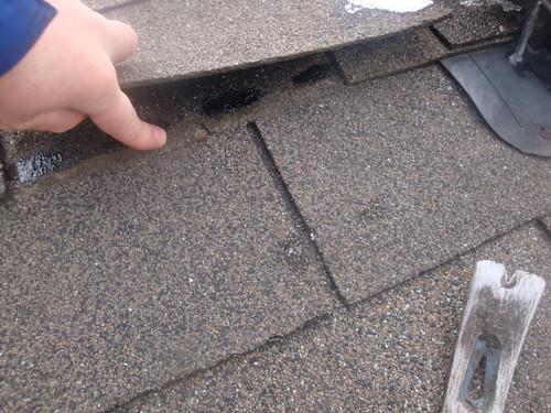 Roof Bath Vent Repair