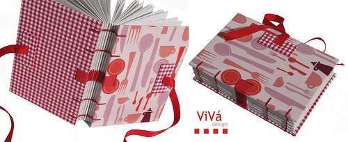 Livro Culinário ViVá - Versão Pocket