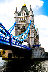 London Tower Bridge - London England (mbell1975) Tags: uk bridge england london tower thames river puente europe bur ponte most gb pont bro brug brcke brig kpr 5photosaday bouwwerk anawesomeshot worldtrekker