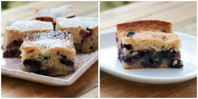 Blueberry-Brown Sugar Plain Cake collage 2