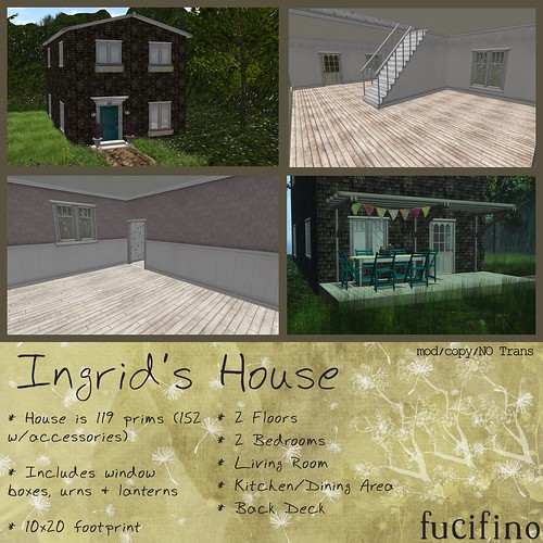 fucifino.Ingrid's House for La Venta Eventa