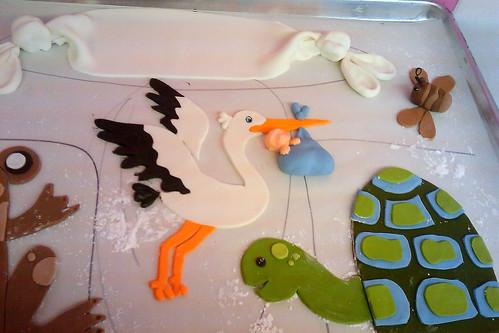 Babyshower cake Coccadotts06