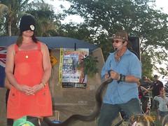 Mindil Market - wildlife show 5 (brendanooo) Tags: food wildlife mindilbeach 2709 mindilmarket
