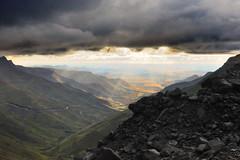 Dark clouds & sunshine, Lesotho