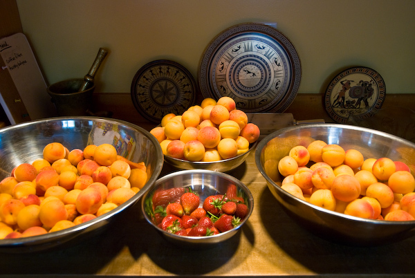 Apricots and some Strawberries by neocles, on Flickr