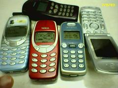 My Old Memories (4) 2003 Ancient Mobilephone / มือถือโบราณรวมมิตร