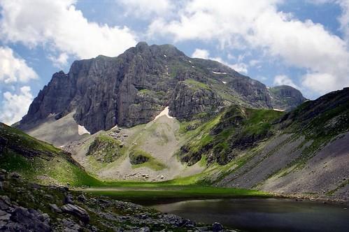 Astraka peak