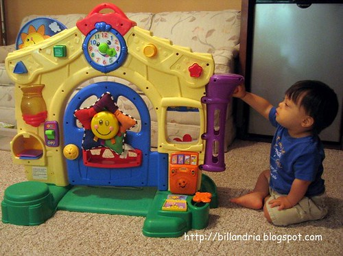 Fisher Price Learning Home indoor side