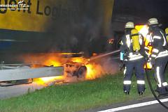 LKW-Brand A3 Weilbach 22.07.09