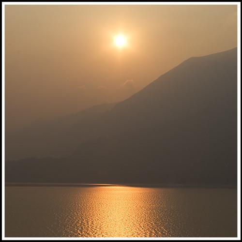 SunStar over Lake Como, Italy ~ for Michael Jackson