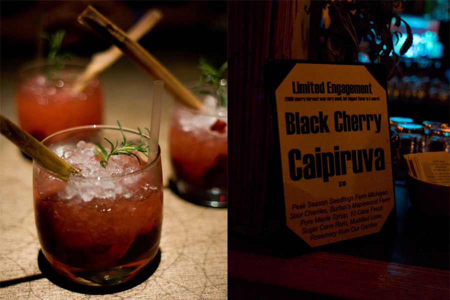 Black Cherry Caipiruva at Nacional 27