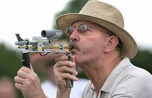 Image result for World Pea Shooting Championships