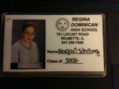 high school ID card - RDHS - 1998/1999