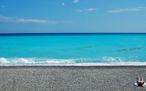 Nice Beach, France
