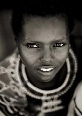 Samburu woman - Kenya (Eric Lafforgue) Tags: africa portrait people face beads kenya culture tribal human tribes bead afrika tradition tribe ethnic kenia tribo gens visage afrique ethnology tribu eastafrica beadednecklace qunia 5594 lafforgue ethnie  qunia    beadsnecklace kea    humainpersonne a