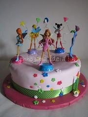 Winx da Francisca (Tenho uma Ideia!...) Tags: cake winx