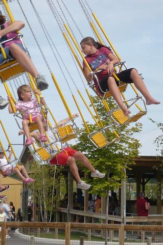 Alana and Jordan on the Swing