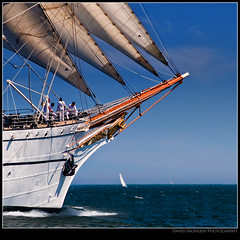 "Off to ""Sea"" :-) (Dave the Haligonian) Tags: ocean canada coast boat marine sailing ship novascotia er vessel atlantic east maritime shit sail tallship halifax imean offtosea copyrightallrightsreserved dsc0372 davidsaunders davethehaligonian tallshipsfestival2009"