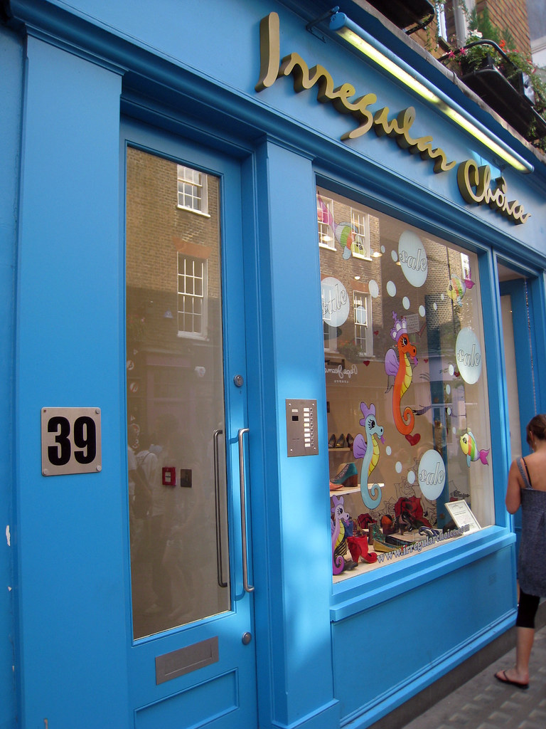 Irregular Choice, shoes store