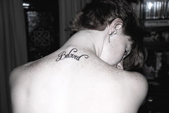 My beloved is mine and I am his. (irishgypsies) Tags: blackandwhite tattoo beloved