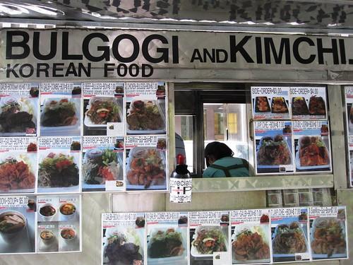 Bulgogi & Kimchi Cart Menu 2