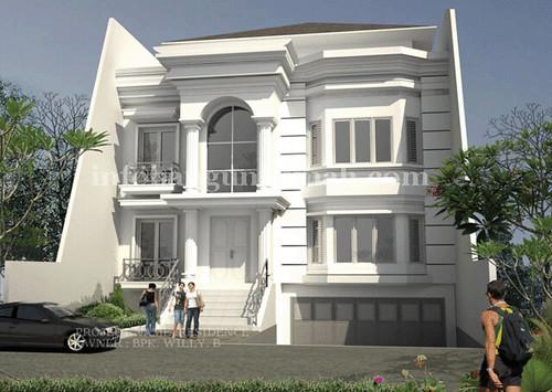 Desain Rumah Minimalis- model eropa