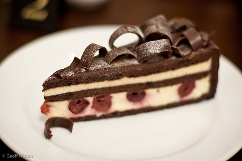 Chocolat Cerise, Lindt Cafe, Melbourne