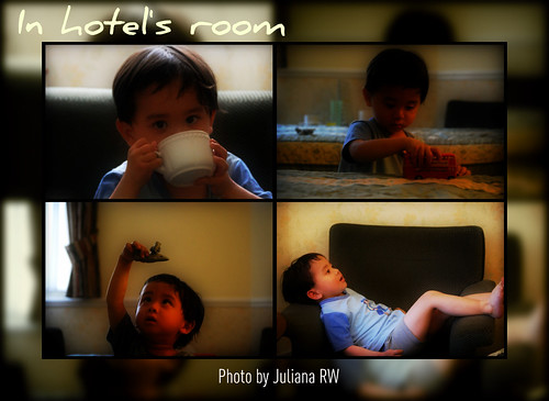 In hotel's room