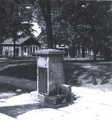 Pryor well. ~courtesy Bay View Historical Society