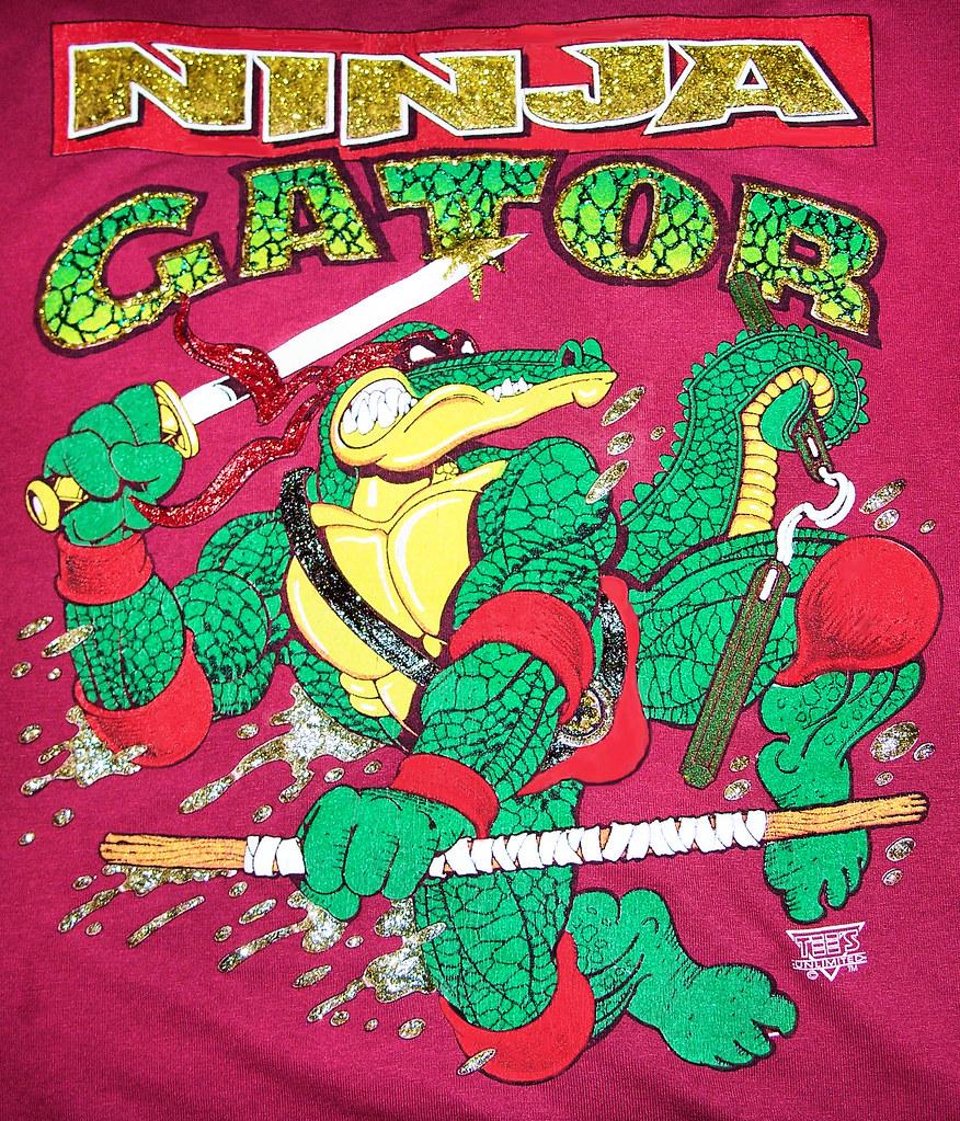 Ninja Gator!