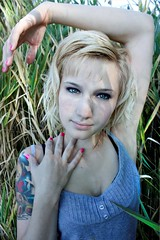 Jackie Krul (Anthony Got Back) Tags: bear pink lake station tattoo cat intense eyes jackie heart skin michigan nail curls polish pale tattoos blond porcelain tails krul lakestclair stclairshores dnr