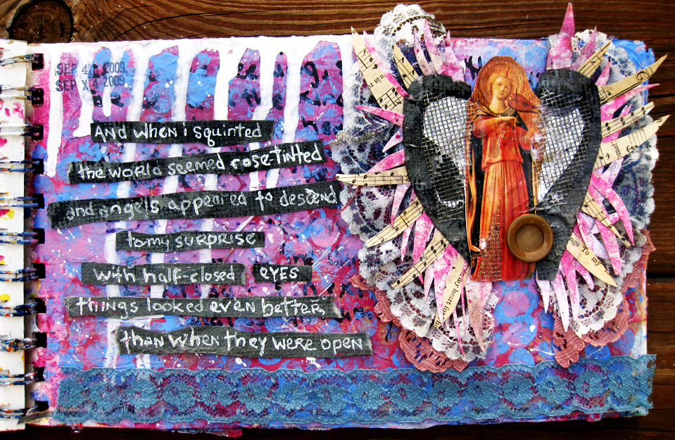 Art Journal - Angel Descends