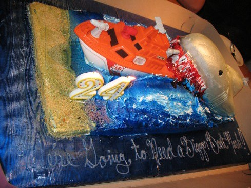 Jaws Cake 1 by you.