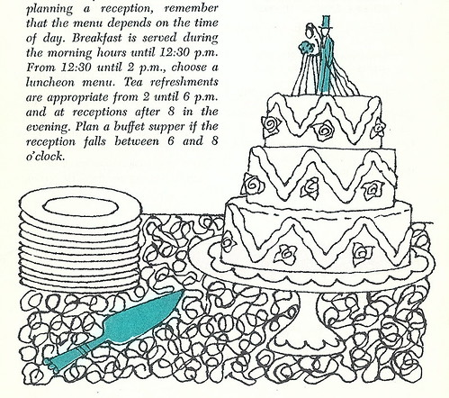 Betty Crocker's Party Book - Wedding Cake