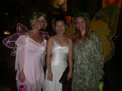 S & two fairies at the Enchanted Evening Soiree