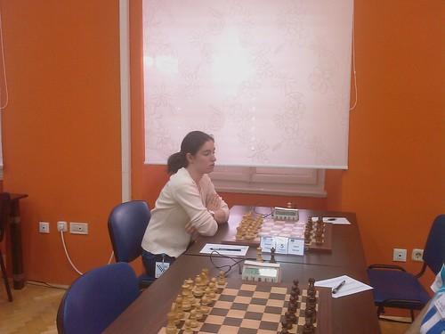 La gran mestre femenina Yelena Dembo