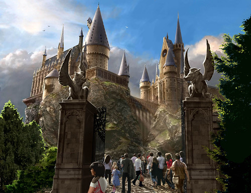 Harry Potter Theme Park (Courtesy Universal Studios)