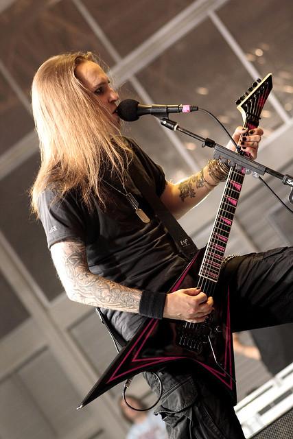 Alexi Laiho - Children of Bodom. @ Monterrey Metal Fest IV